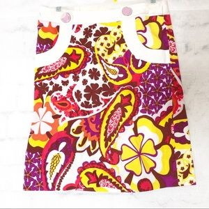 Etcetera paisely skirt O